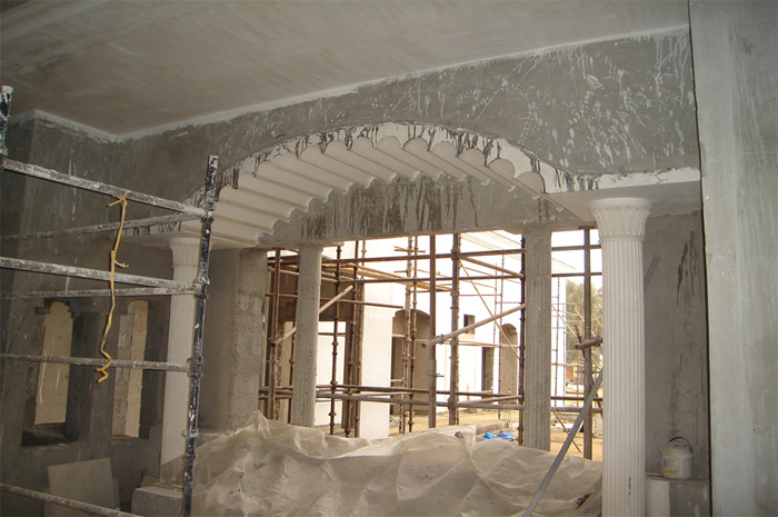 Gnj omar al shamsi villa in sharjah uae 2006 2009 for Archispace designs architects interior consultants